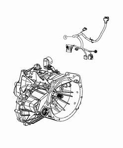 2017 Dodge Journey Wiring  Transmission  Powertrain  Mopar