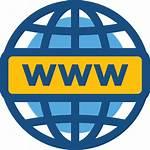 Internet Icon Wide Domain Webpage Iconos Ssc
