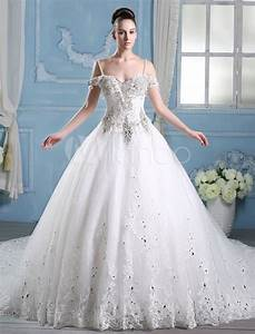 ball gown princess wedding dress in discounts milanoocom With robe de mariée princesse strass
