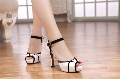 high heels sepatu sandal wanita murah warna putih ryn fashion