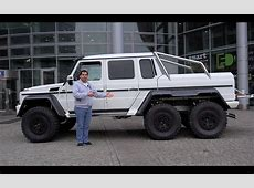 ENG MercedesBenz G63 AMG 6x6 walkaround YouTube