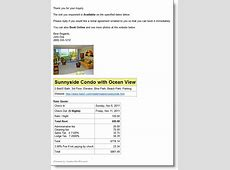 Vacation RentPro Software Remote Web Access