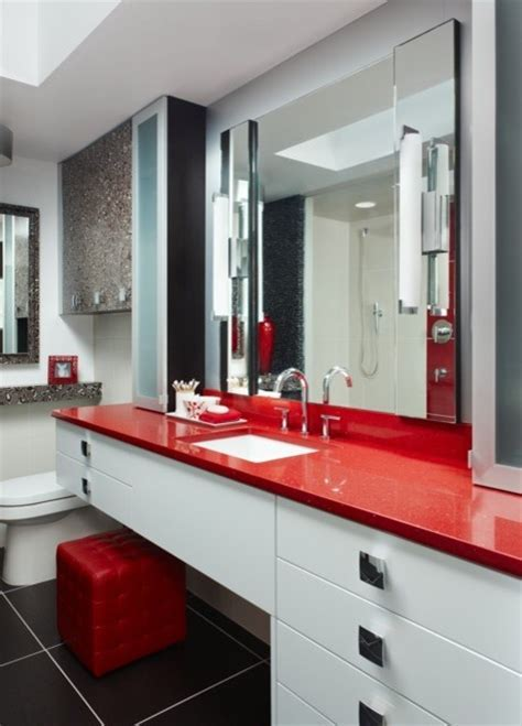 red and black bathroom bathroom ideas