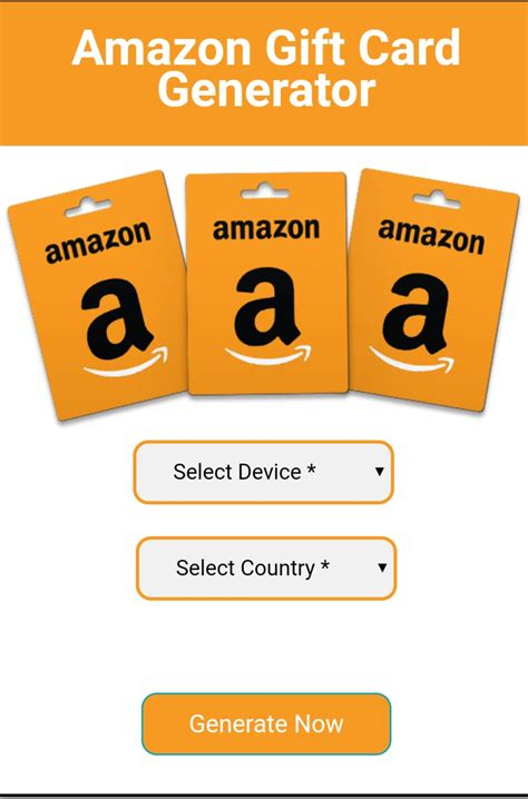 Below are 47 working coupons for amazon gift card code generator from reliable websites that we have updated for users to get maximum savings. Free Amazon Gift Card Generator 2020 Online - Working Codes