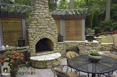 Outdoor Fireplace Outdoor Design Build