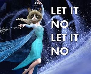 grumpy cat frozen meme - Google Search | Funny stuff ...
