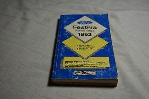 ford festiva owners manual guide book
