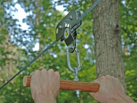 Build A Zip Line For Your Backyard Make