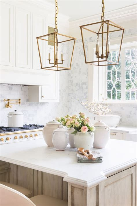 white kitchen pendant lighting beautiful interiors in every shade of pink 1395