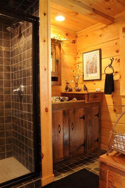 rustic cabin bathroom bathroom bathroomdesign