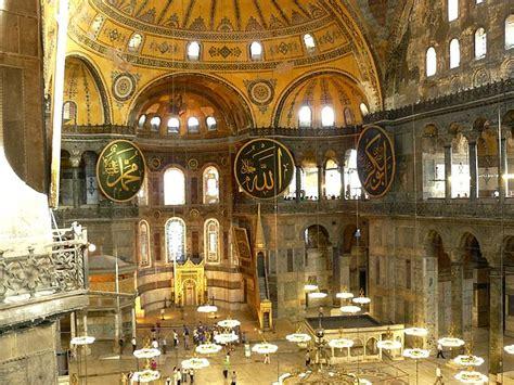 Santa Sofia Istanbul Interno Istanbul La Metropoli Dei Due Continenti Repubblica It