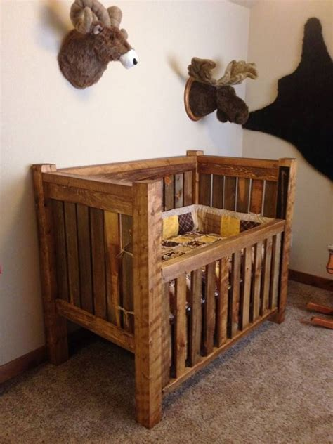 natural wood baby crib woodworking projects plans