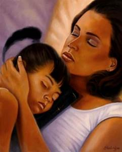 Mother daughter love | Galleries ..BLACK ART | Pinterest ...