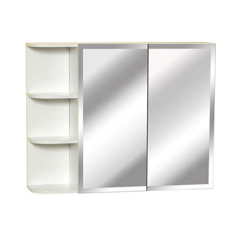 Zenith Medicine Cabinet Shelves by Zenith Products 31 Inch Bi View Medicine Cabinet With Side