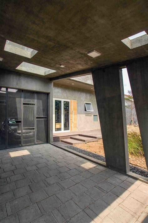 inspirasi desain carport rumah minimalis  elegan