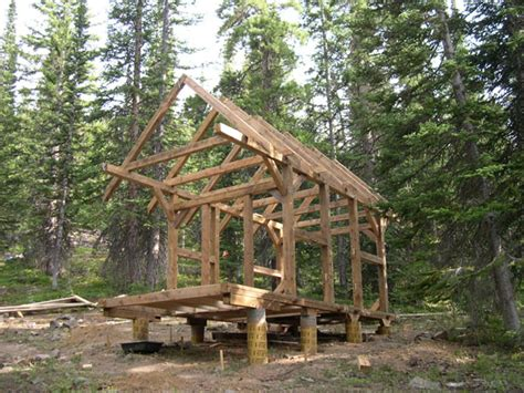 timber frame cabin links to other s timber framed cabin projects
