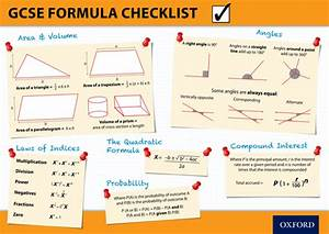 Maths Formula And Vocabulary Posters By Tomscambler