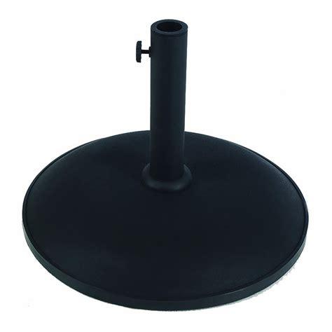 shop fiberbuilt black patio umbrella base at lowes