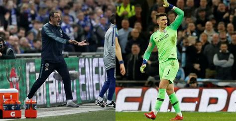 Kepa and Sarri open up on what happened in the Carabao Cup ...