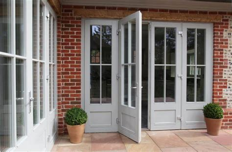 triple glazed timber french doors   performance