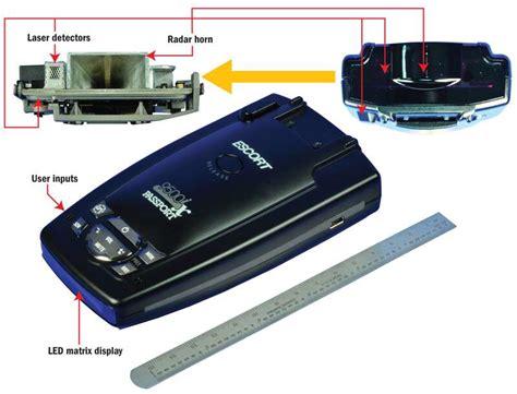 ix radar detector escort arms  high  road