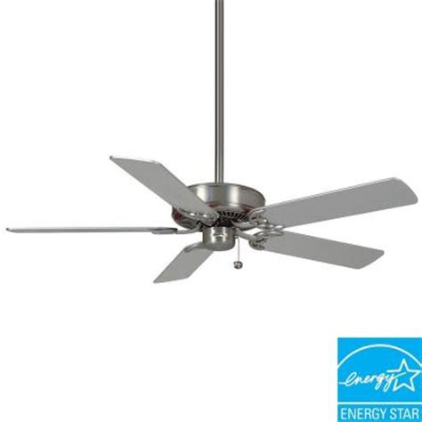 casablanca ceiling fans home depot casablanca four seasons iii 52 in brushed nickel ceiling