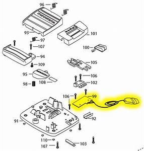 Minn Kota Foot Pedal Board  Powerdrive Flat Plug No Longer Available