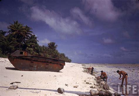 World War II on a Paradise Island