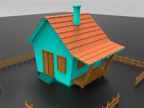 3d Model Game-ready Cartoon House