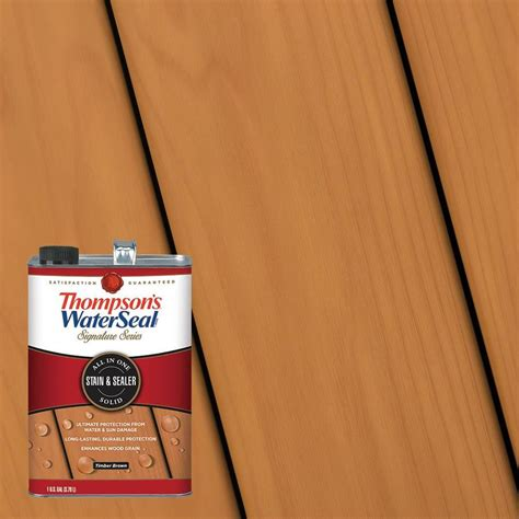 thompsons waterseal signature series pre tinted timber