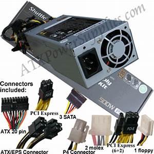 Power Supply Cross Reference Chart Shuttle Pc63 500 Watt Power Supply