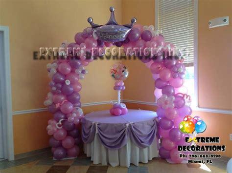 princess balloon decorations princess crown tale balloon decoration with a balloon