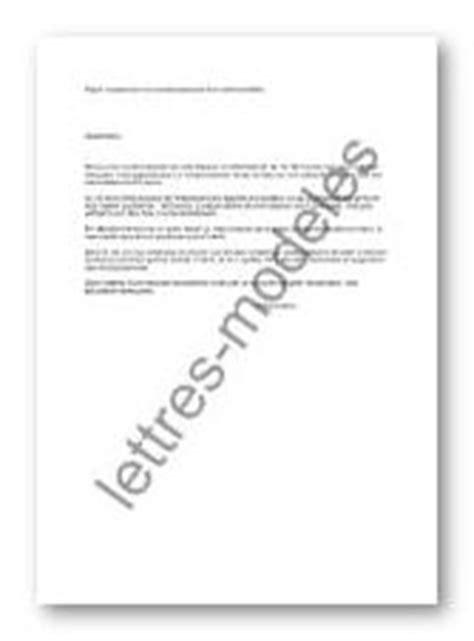 mod 232 le et exemple de lettres type suspension de - Modele Lettre Suspension De Credit Immobilier