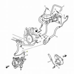 Gm Power Steering Gear Outlet Line  2001