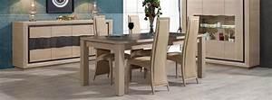 Salle a manger contemporain wapa chene meubles bois massif for Salle À manger contemporaine avec salle a manger bois massif