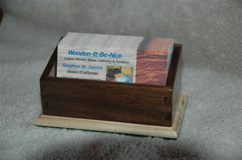 Handmade Business Card Holder By Wooden-it-be-nice Icici Bank Business Gold Card Green Black Loans For Holders Front Design Real Holder Graphic Images The Guy Stock Gsm