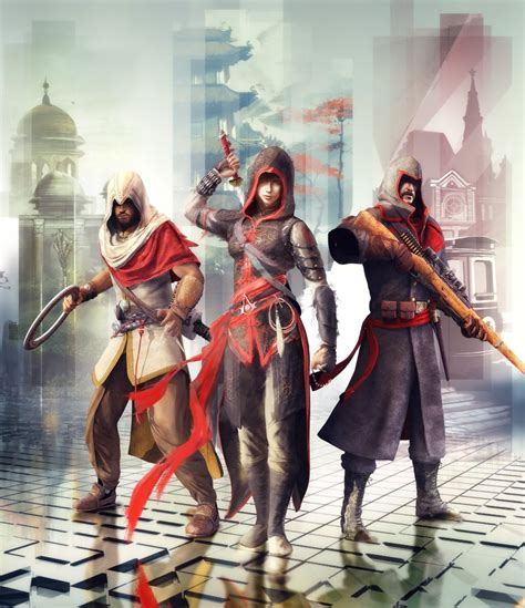 Assassins Creed Chronicles Is Now A Trilogy Spanning