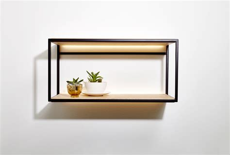 wall mounted shelf beauparlant launches open wall mounted shelves design milk