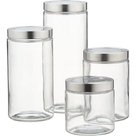 kitchen storage glass containers for pantry storage of grains and beans glass storage 6171