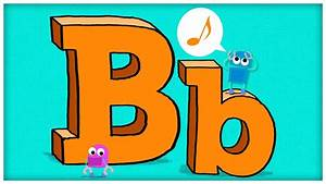 """ABC Song: The Letter B, """"B is For Boogie"""" by StoryBots ..."""