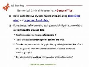 Preparation For Kenexa U0026 39 S Numerical Critical Reasoning