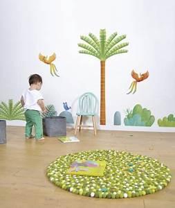 Tapis Chambre Bébé Garçon : tapis ballsrug karma green lilipinso tendre amour ~ Dallasstarsshop.com Idées de Décoration