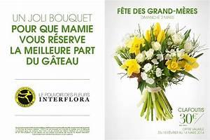 collection speciale fete des grand meres le mag de flora With affiche chambre bébé avec gateau de fleurs interflora