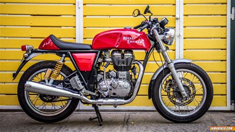 Enfield Continental Gt Image by Royal Enfield Continental Gt Review