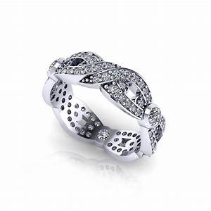 woven diamond wedding ring jewelry designs With woven wedding ring