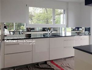 Spiegel Als Küchenrückwand : k chenr ckwand aus spiegel spiegelk chenr ckwand als ~ Michelbontemps.com Haus und Dekorationen