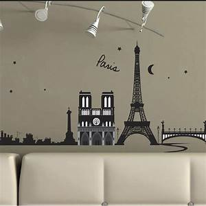 Stickers Cuisine Leroy Merlin : sticker paris france 50 cm x 70 cm leroy merlin ~ Preciouscoupons.com Idées de Décoration