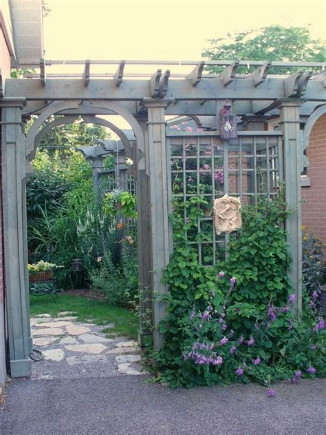 Backyard Trellis Ideas by Best 25 Trellis Ideas Ideas On P Garden