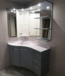 davausnet glace salle de bain avec luminaire avec des With glace de salle de bain avec eclairage et tablette