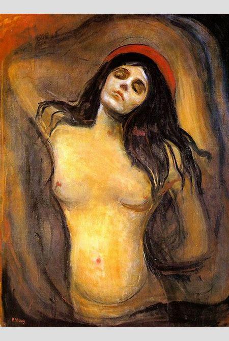 Madonna, 1894 - Edvard Munch - WikiArt.org
